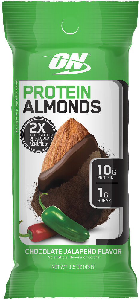 Optimum Nutrition Protein Almonds - 1 Packet Chocolate Jalapeno