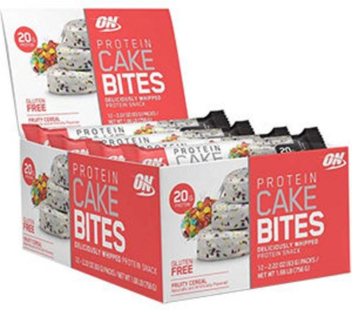 Optimum Nutrition Protein Cake Bites - Box of 12 Fruity Cereal