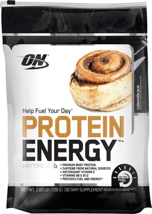 Optimum Nutrition Protein Energy - 1.72lb Cinnamon Bun