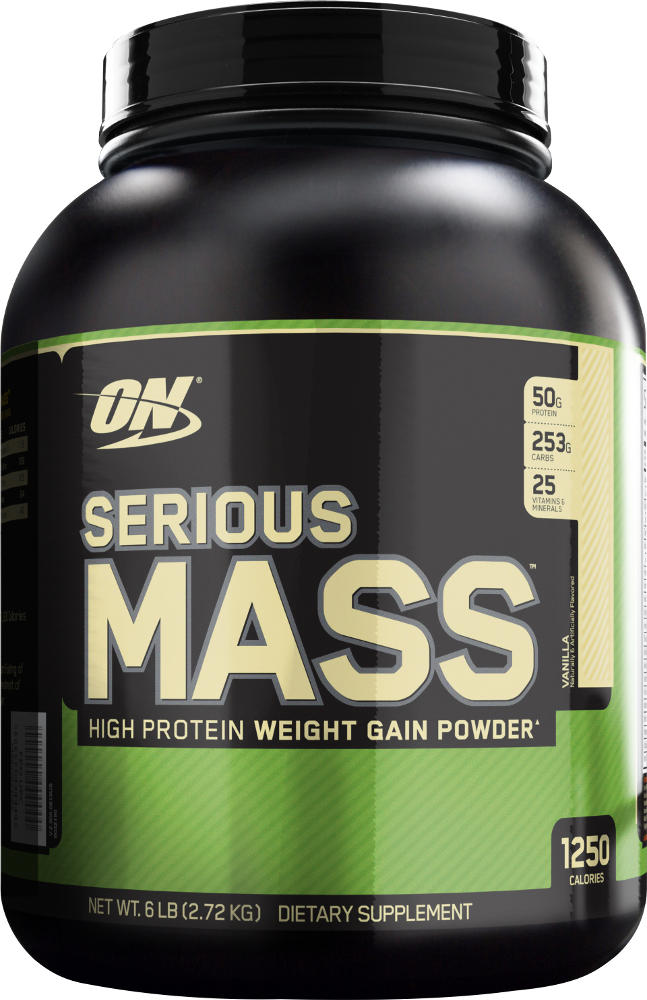 Optimum Nutrition Serious Mass - 6lbs Vanilla