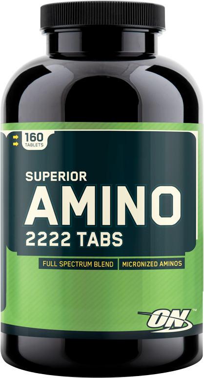Optimum Nutrition Superior Amino 2222 - 160 Tablets