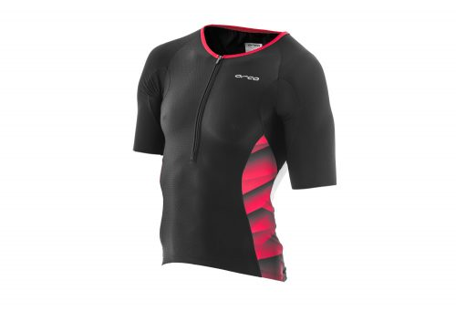 Orca 226 Tri Jersey - Men's - black/poinsettia, medium