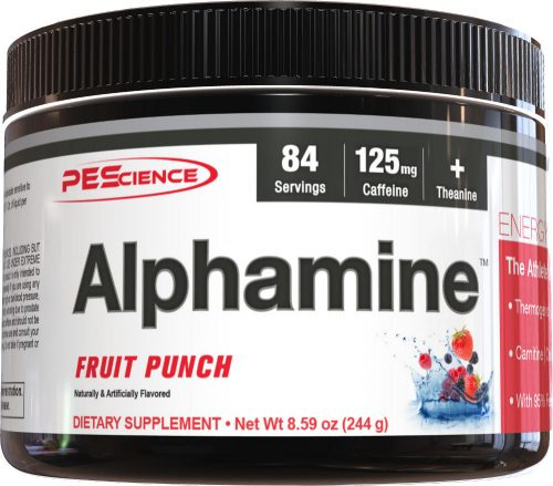 PEScience Alphamine - 84 Servings Fruit Punch
