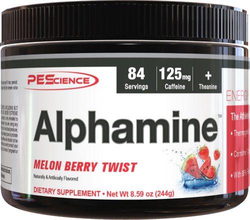 PEScience Alphamine - 84 Servings Melon Berry Twist