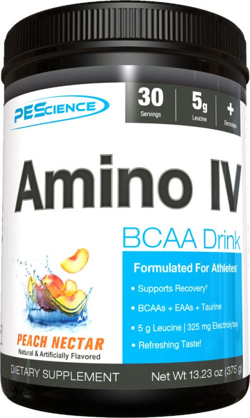PEScience Amino IV - 30 Servings Peach Nectar
