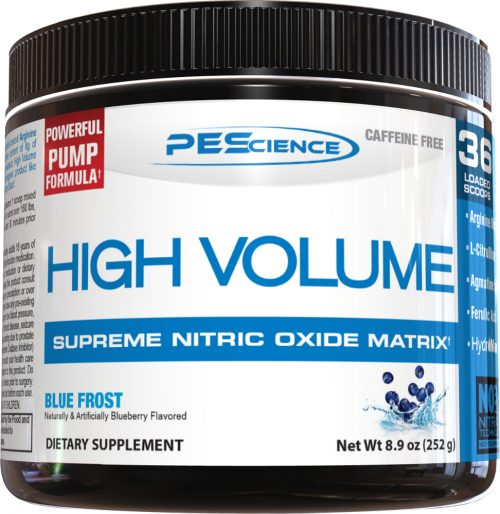 PEScience High Volume - 18 Servings Blue Frost