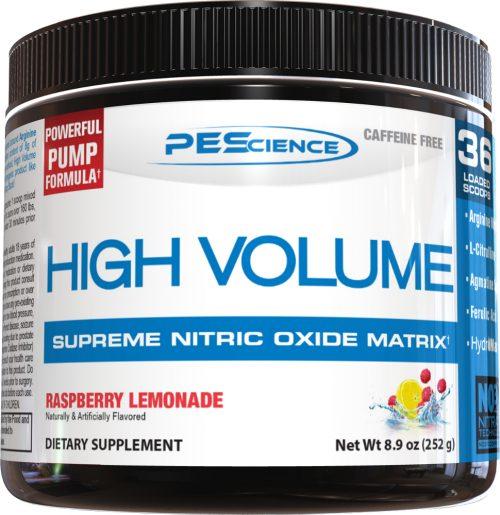 PEScience High Volume - 18 Servings Raspberry Lemonade