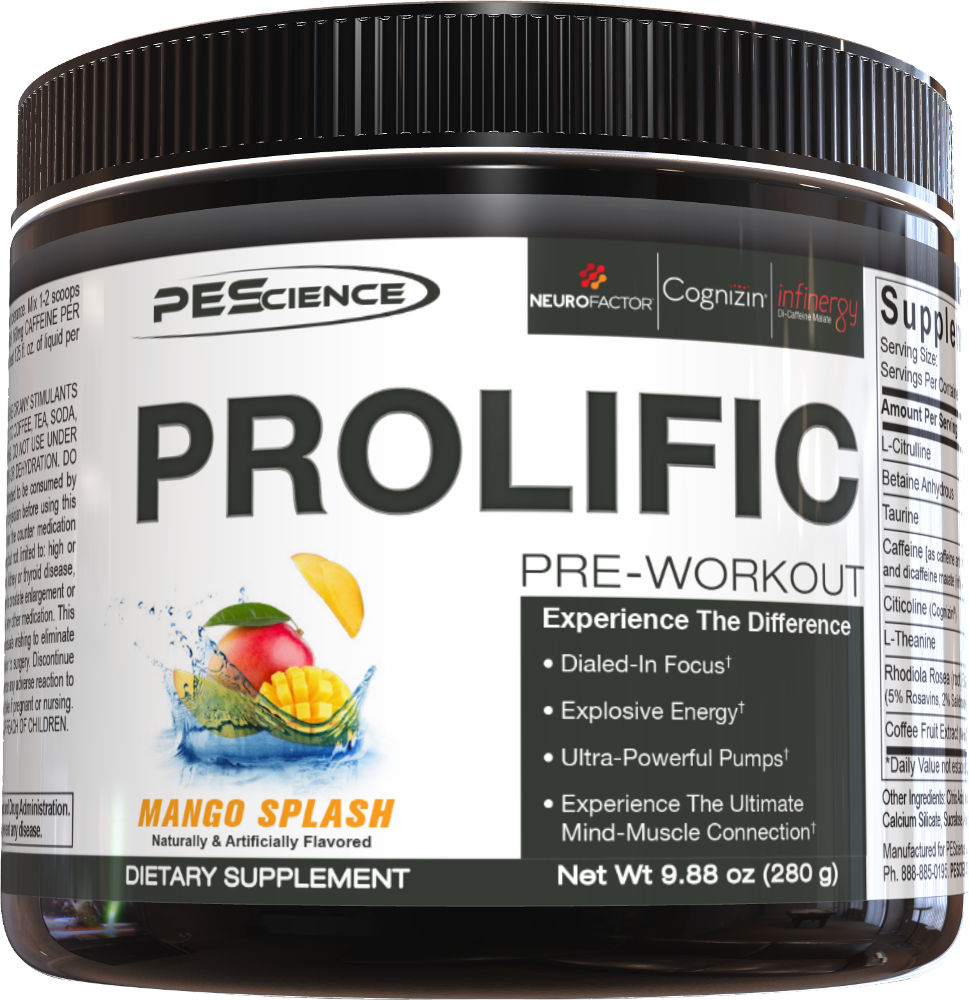 PEScience Prolific - 20 Servings Mango Splash