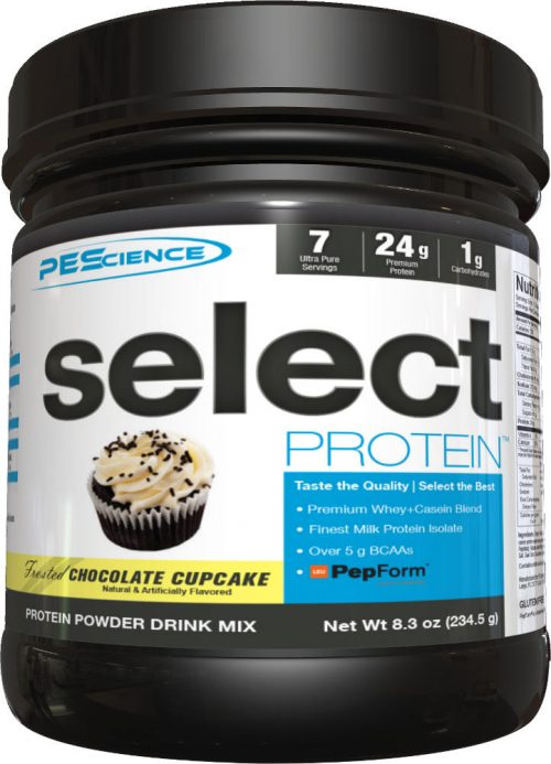 PEScience Select Protein - 7 Servings Chocolate Cupcake