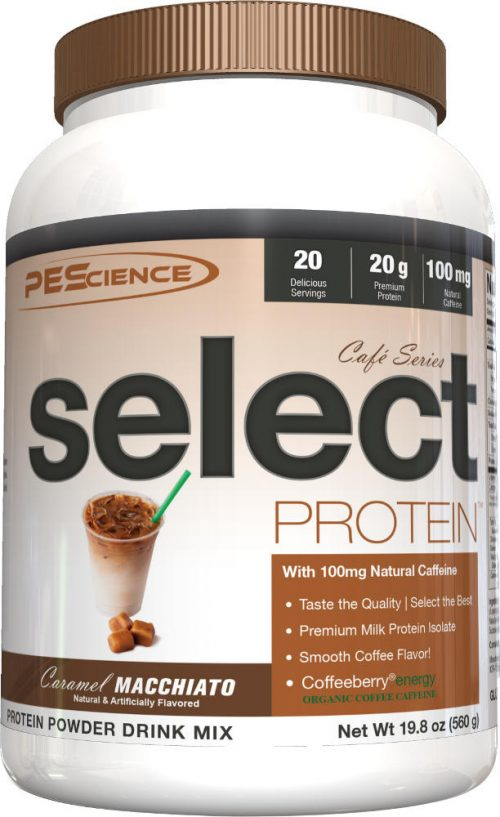 PEScience Select Protein Cafe Series - 20 Servings Caramel Macchiato