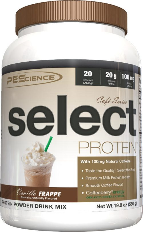PEScience Select Protein Cafe Series - 20 Servings Vanilla Frappe