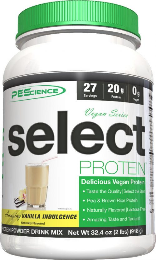 PEScience Select Vegan Protein - 27 Servings Vanilla Indulgence