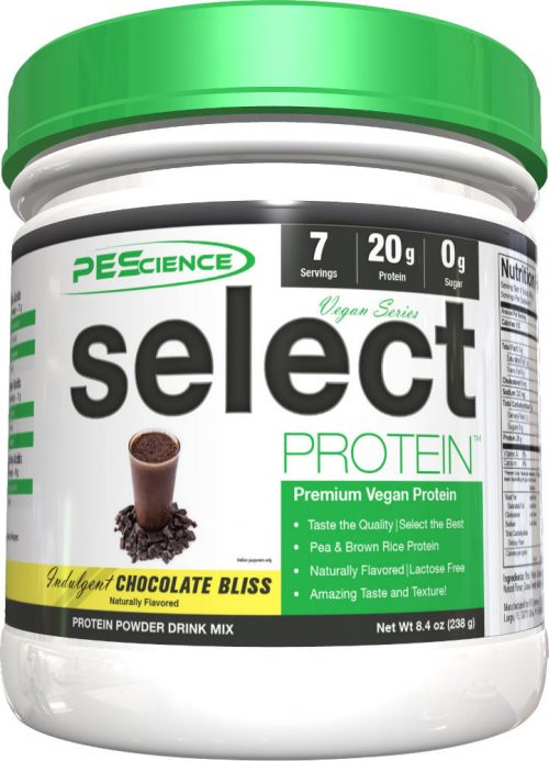 PEScience Select Vegan Protein - 7 Servings Chocolate Bliss
