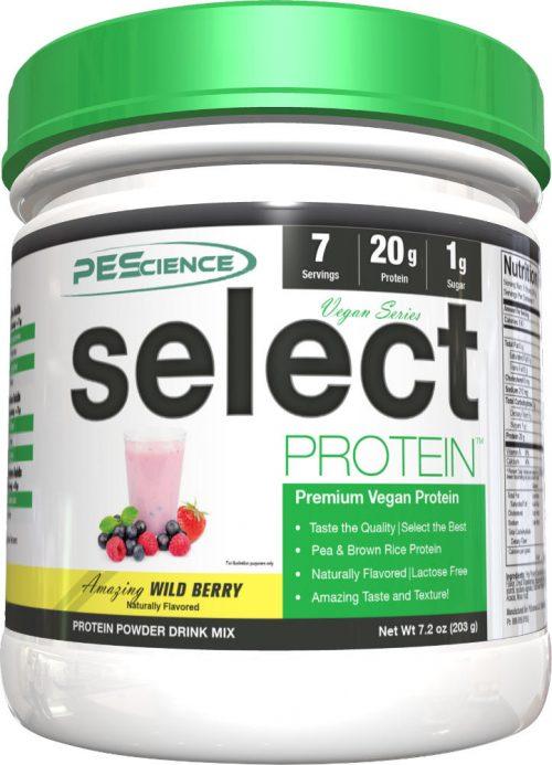 PEScience Select Vegan Protein - 7 Servings Wild Berry