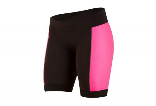 Pearl Izumi Elite Pursuit Tri Short - Women's - black/screaming pink, small