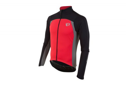 Pearl Izumi P.R.O. Pursuit Thermal Long Sleeve Jersey - Men's - black/true red, medium