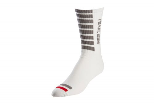 Pearl Izumi Pro Tall Socks - white, medium