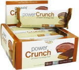 Power Crunch Power Crunch Bars - Box of 12 Peanut Butter Fudge