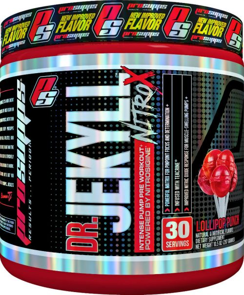 ProSupps Dr Jekyll NitroX - 30 Servings Lollipop Bunch