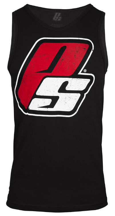 ProSupps Fitness Gear Athlete Tank - Black/White Large