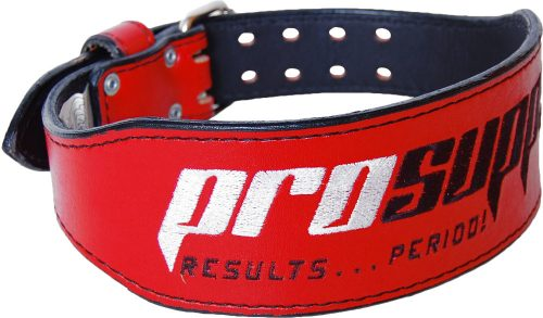 ProSupps Fitness Gear Cardillo Weight Belt - Red Medium