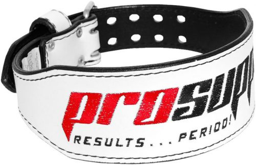 ProSupps Fitness Gear Cardillo Weight Belt - White Medium