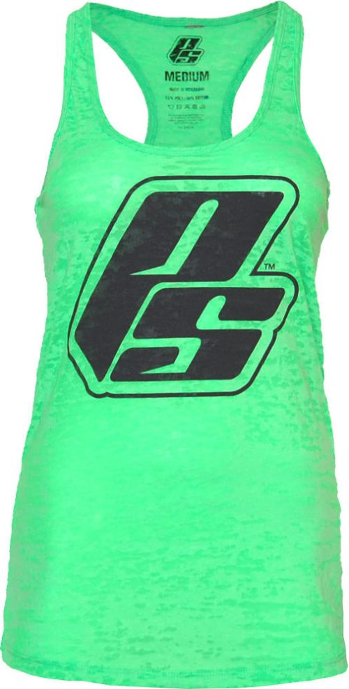 ProSupps Fitness Gear Results Period Burnout Tank - Neon Green Large