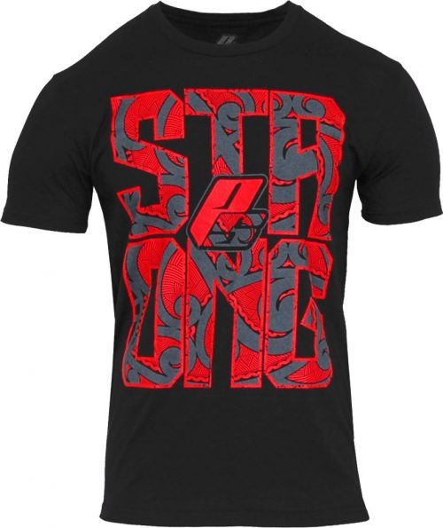 """ProSupps Fitness Gear """"Strong"""" T-Shirt - Black Small"""