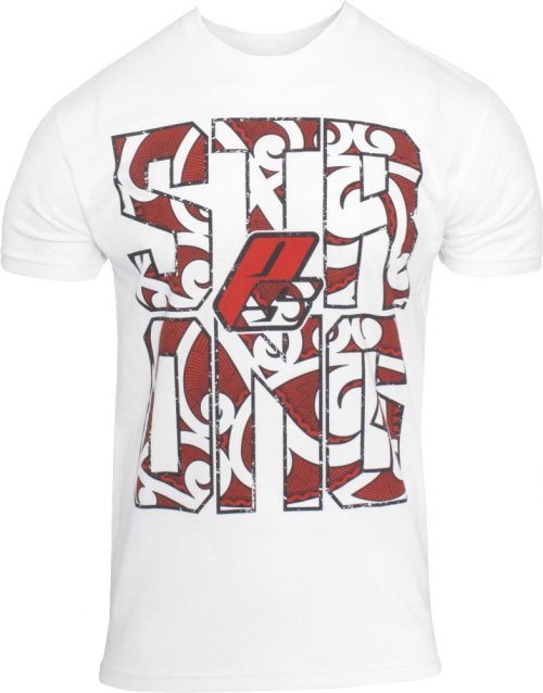 """ProSupps Fitness Gear """"Strong"""" T-Shirt - White XL"""