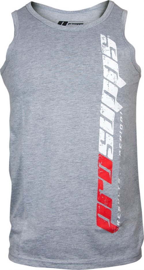 ProSupps Fitness Gear Vertical Tank - Heather Grey Small