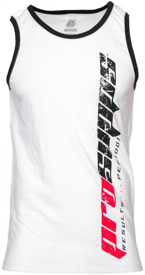 ProSupps Fitness Gear Vertical Tank - White/Black XXL