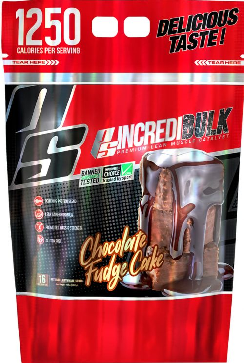 ProSupps IncrediBULK - 12lbs Chocolate Fudge Cake