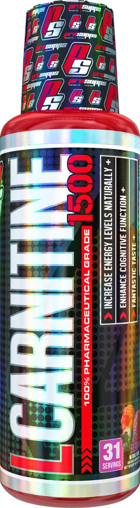 ProSupps L-Carnitine - 31 Servings (1500mg) Berry