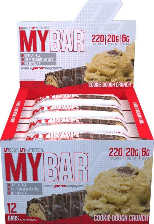 ProSupps MyBar - Box of 12 Cookie Dough Crunch
