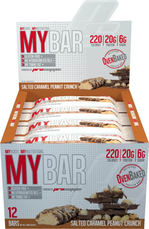 ProSupps MyBar - Box of 12 Salted Caramel Peanut Crunch