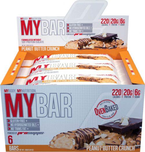ProSupps MyBar - Box of 6 Peanut Butter Crunch
