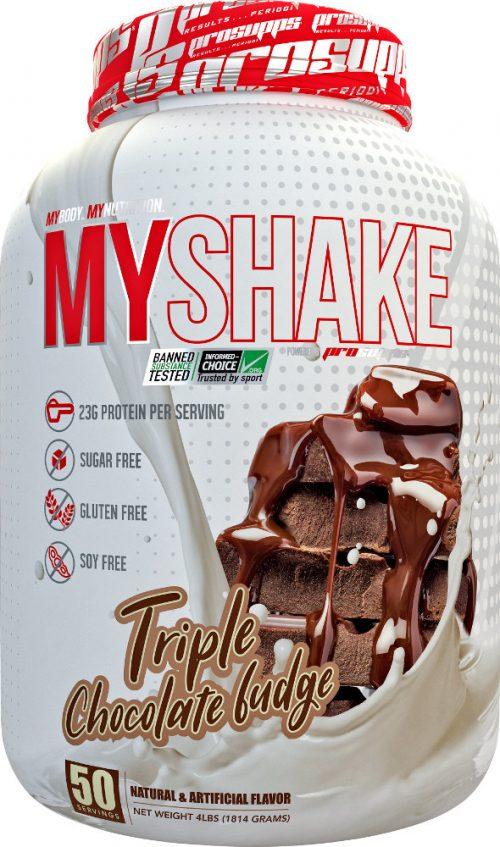 ProSupps MyShake - 4lbs Triple Chocolate Fudge