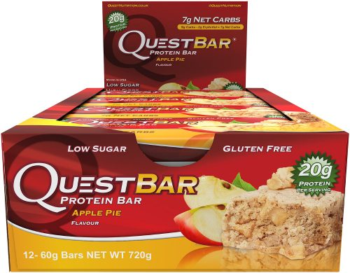 Quest Nutrition Quest Bar - Box of 12 Apple Pie
