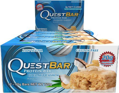 Quest Nutrition Quest Bar - Box of 12 Coconut Cashew