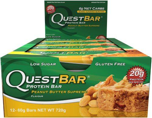 Quest Nutrition Quest Bar - Box of 12 Peanut Butter Supreme