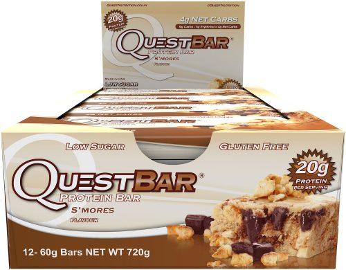 Quest Nutrition Quest Bar - Box of 12 S'mores