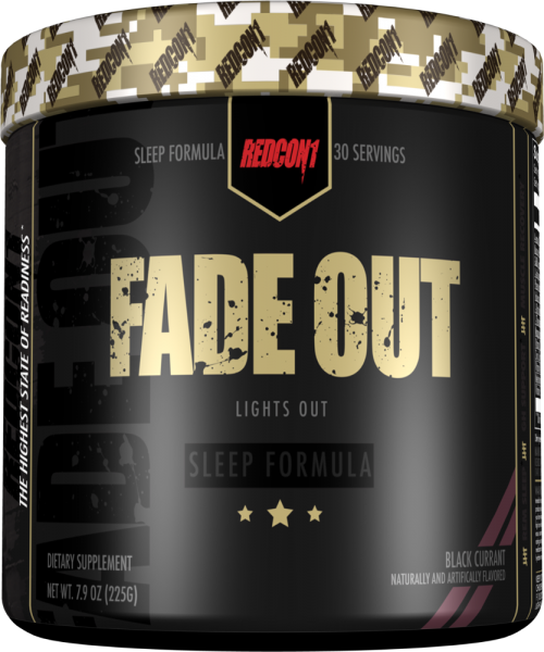 RedCon1 Fade Out - 30 Servings Black Currant
