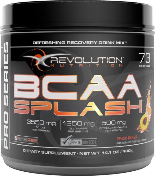 Revolution Nutrition BCAA Splash - 73 Servings Peach Mango
