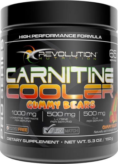Revolution Nutrition Carnitine Cooler - 65 Servings Gummy Bears