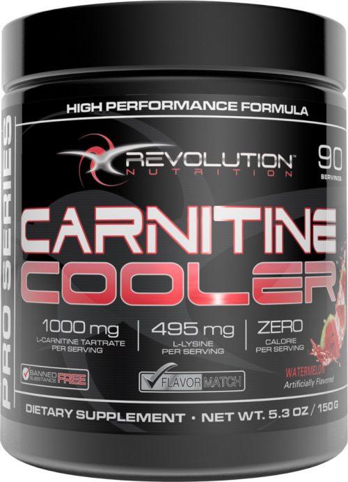 Revolution Nutrition Carnitine Cooler - 90 Servings Watermelon