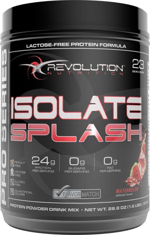 Revolution Nutrition Isolate Splash - 23 Servings Watermelon