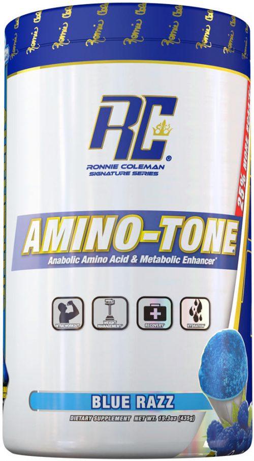 Ronnie Coleman Signature Series Amino-Tone - 30 Servings Blue Razz