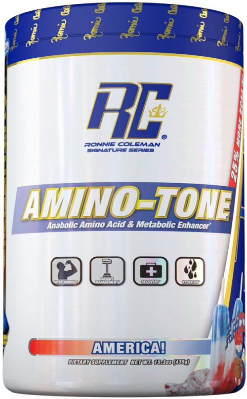 Ronnie Coleman Signature Series Amino-Tone - 90 Servings America