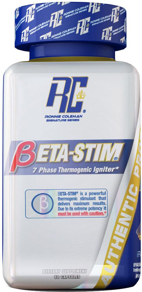 Ronnie Coleman Signature Series Beta-Stim - 60 Capsules