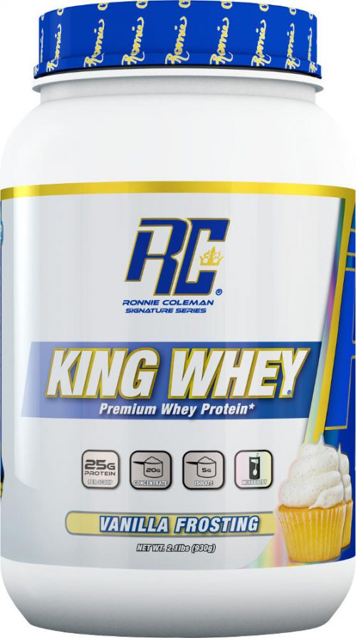 Ronnie Coleman Signature Series King Whey - 2lbs Vanilla Frosting
